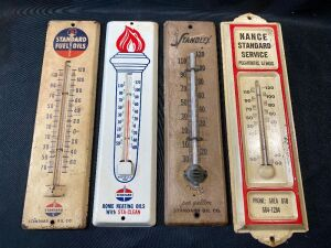 FOUR THERMOMETERS