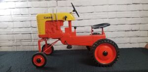 Customized Eska Case Model 400 High Crop pedal tractor