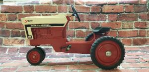 Customized Ertl International 5 Millionth 1066 pedal tractor