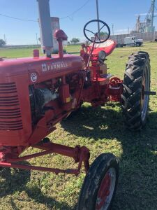 1950 International Harvester Farmall Super C