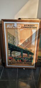 "ARTHUR A. JOHNSON ""AVOID STREET CONGESTION""CHICAGO TRANSIT AUTHORITY -LOOP ""L"" CENTENNIAL Plus 2 more"