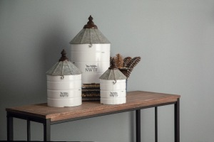 Savannah Decorative Containers- Set of 3