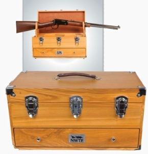 Wooden Shooters Chest W/NWTF Logo