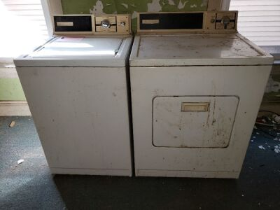 KenmooreWasher And Dryer Lot