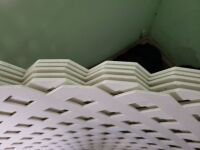 (6) Vinyl Lattice - New 2'x 8' - 4