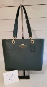 Jes tote by Coach (Evergreen)