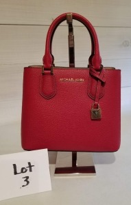 Adele convertible satchel by Michael Kors