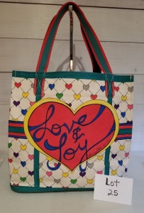 Love and Joy tote by Brighton