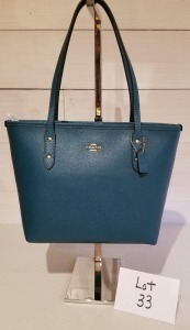Medium City tote by Coach