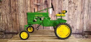 Custom John Deere Model 70 Hi-Crop pedal tractor