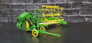 1/16 Scale Don Campbell Custom John Deere grain binder