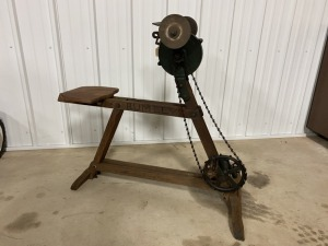 Rumely Pedal Driven Grinder