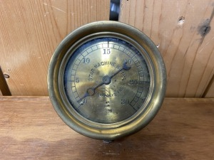 Star Machine Works 30psi Gauge