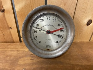 Fairbanks Morse Co. 50 psi Water Gauge