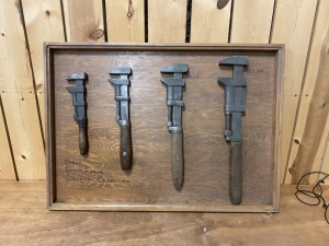 Early Steam Wrench Display