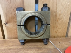 Brass Bearing Block for Gas Engine