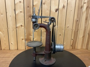 "Burke Machine 23"" Tall Belt Drive Drill Press"