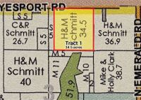 Tract 1 - 34.5 Acres +/- with Farm house - 15