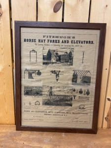 Fitzhugh's Hay Fork and Elevator Poster