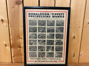 Ronadson Tippett Machinery Poster