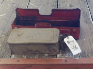 Antique IH Tool Boxes