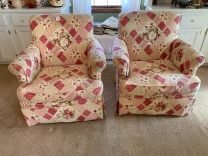 (2) Matching Arm Chairs