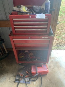 Craftsman Tool Chest w/ Misc Tools