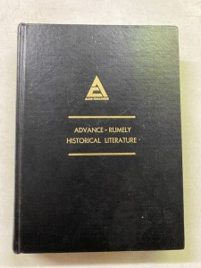 Rumely Bound Volume of Literature - Must See!!