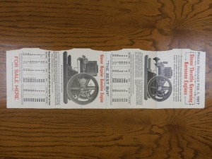 Stover Throttle Governed Engine Foldout mailer