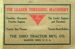 The Ohio Tractor MFG. Co., Catalog, Threshing Machinery