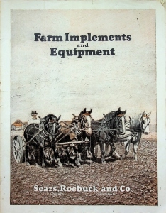 Sears and Roebuck Farm Implement and Equipment Catalog