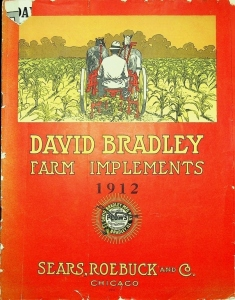 1912 David Bradley Farm Implement Catalog
