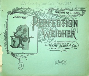 Perfection Weigher Catalog