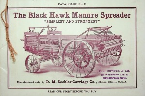Black Hawk Manure Spreader Catalog No. 2
