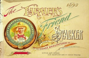 1895 Farmers Friend Stacker Catalog