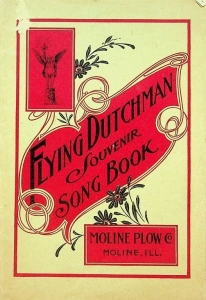 Flying Dutchmen Souvenir Song Book