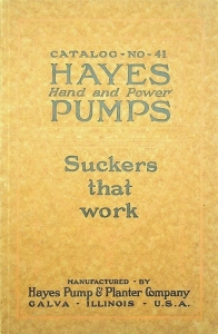 Hayes Hand and Power Pump Catalog