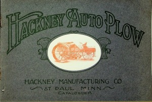 Hackney Manufacturing Co. Catalogue A, Hackney Auto Plow