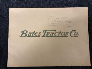 Bates Tractor Company, Catalog All Steel Farm Tractors