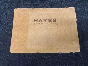 Hayes Farm Tool Catalog