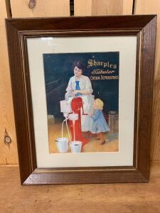 Sharples Cream Separator Advertisement