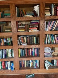 ALL Books in Built in Bookcase