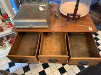 Country Store Seed Cabinet - 5