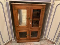 Oak Antique Ice Box - 2