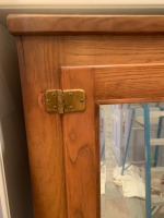 Oak Antique Ice Box - 3