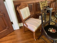 (4) Antique Parlor Chairs - 2