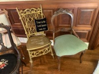 (4) Antique Parlor Chairs - 4