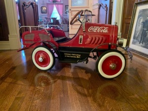 Vintage Coca-Cola Advertising Pedal Car