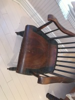 Early American Comb Back Rocking Chair - 2