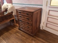 Early Victorian Gentleman's Chest - Pine - 2